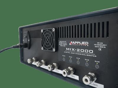 mezclador de gas digital modelo mix 2000 sica medicion
