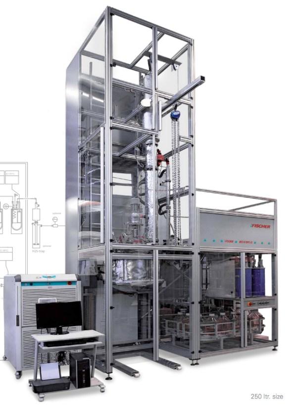 planta piloto destilacion crudos astm d2892 modelo i fischer dist d 2892 sica medicion