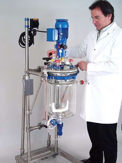 reactor mini planta piloto minipilot modelo minipilot sica medicion