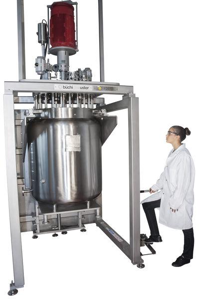 reactores a presion produccion pequeña escala sica medicion