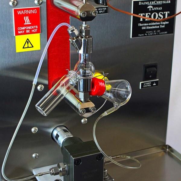 simulacion de aceite de motor termo oxidacion marca tannas sica medicion
