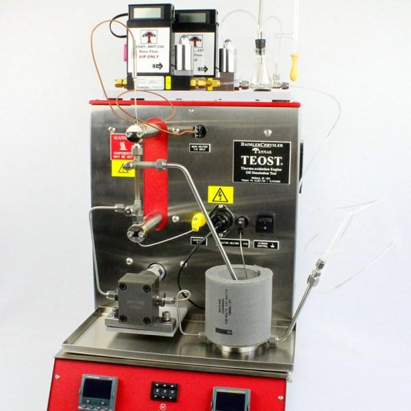 simulacion de aceite de motor termo oxidacion modelo teost sica medicion