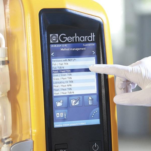 sistema de destilacion vapodest 450 marca gerhardt sica medicion
