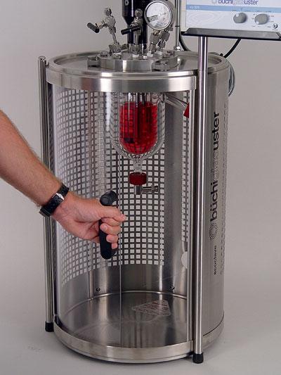 sistema reactor a presion econoclave marca buchiglasuster sica medicion