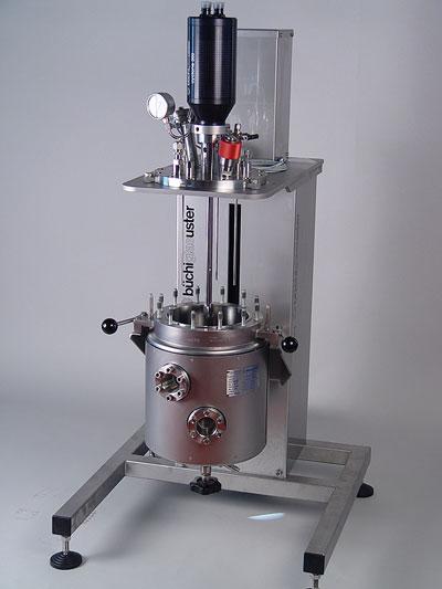 sistema reactor a presion kiloclave hidrogeneracion sica medicion