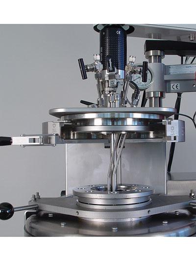 sistema reactor a presion kiloclave marca buchiglasuster sica medicion