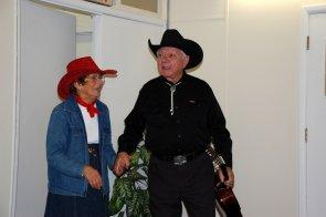 June Carter and Johnny Cash drop in!