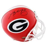 Aaron Murray Helmet