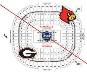 Belk Bowl - UGA vs. UL