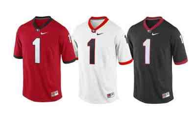 Nike UGA Football Jerseys