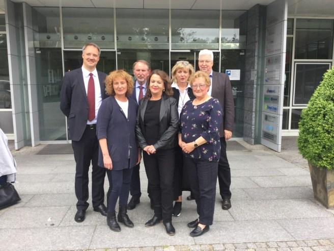 Das Team um die VfS-Geschäftsführer Wilfried Joswig (rechts) und Dr. Clemens Gause, organisierte den gelungenen Jahreskongress Mitte Mai 2019 in Potsdam zum 25-jährigen Verbandsjubiläum.