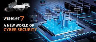 Der neue Wisenet 7-Chipsatz von Hanwha Techwin verfügt über zahlreiche Features, die die System- beziehungsweise Cybersicherheit der Wisenet-Kameras erhöhen.