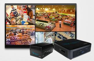 Eagle Eye Networks, Anbieter von Videoüberwachung in der Cloud, bietet eine lokale Display Station, die bis zu 164 Live-Kamerastreams ermöglicht.
