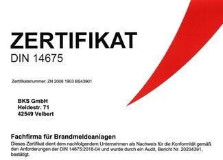 Die Zertifizierung von Brandmelde- und Sprachalarmanlagen nach DIN 14675 bietet Kunden viele Vorteile.