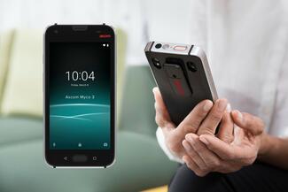Das Smartphone hat sich im Klinikbereich bewährt und bildet eine robuste Endgeräteplattform für Personennotrufanlagen.