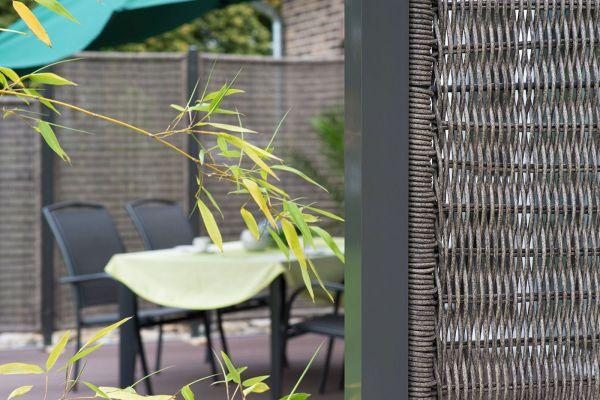 Sichtschutz fr Garten Terrasse und Balkon  SichtschutzWeltde