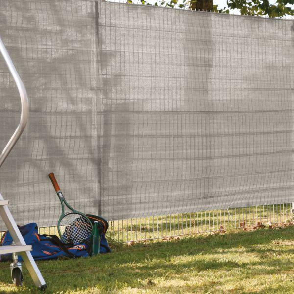 garten sichtschutz anthrazit   bpc sichtschutzzaun stecksystem anthrazit sichtschutz