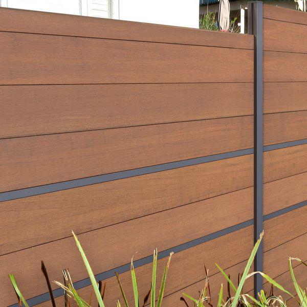 bambus sichtschutz steckzaun yang einzelfullung 14mm