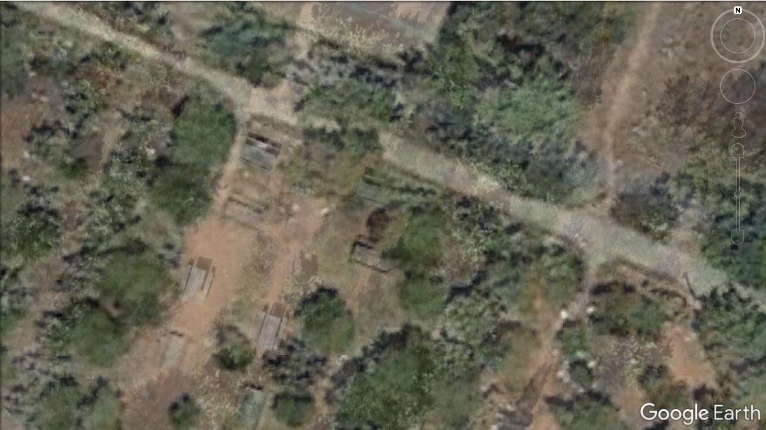 Rilievo fotogrammetrico RTK senza GCP overlap su Google Earth