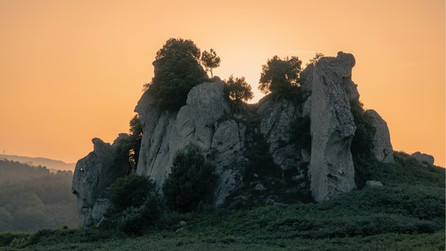 Randonnée Argimusco Sicile