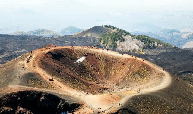 Randonnée volcan Sicile