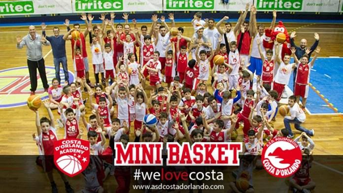 Minibasket Costa D'Orlando