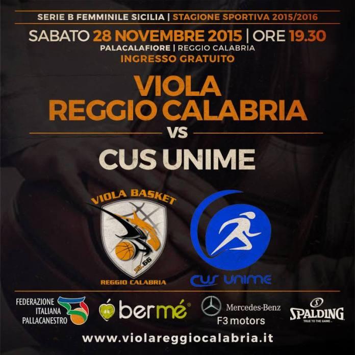 Viola Reggio Calabria - Cus Unime