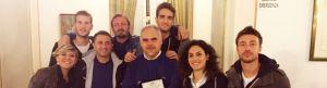 La Fortitudo Agrigento per la premiazione del coach Franco Ciani