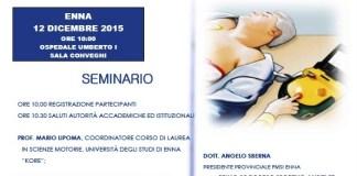 Seminario Enna defibrillatore