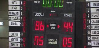 Trapani - Agrigento 86-94