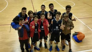 La formazione Under 14 del Minibasket Milazzo