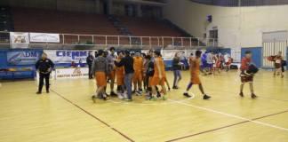 L'Under 16 di Eccellenza dell'Amatori Messina festeggia la vittoria contro Trapani