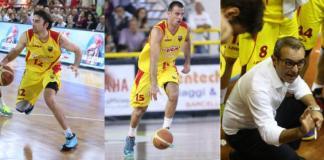 Gabriele Ganeto, Demian Filloy e Ugo Ducarello