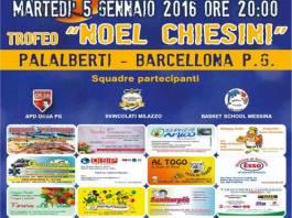 Locandina Trofeo Noel Chiesini