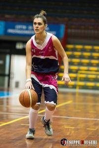 Martina Lombardo, ex Orvieto, quest'anno alla Lazur. Con Licciardello giocherà in U20 con il Verga Palermo