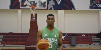 Stan Okoye in maglia Nigeria
