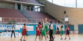 Palla a due Virtus Augusta - Rescifina Messina Under 13