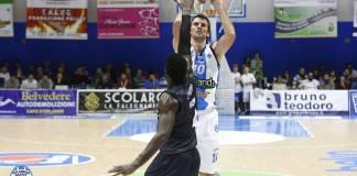 Sandro Nicevic al tiro - Betaland Capo D'Orlando