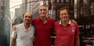 Il dirigente Caruso, Vincenzo Marabello e il presidente Zanghì