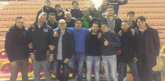 """Il Basket Adrano approda in finale playoff contro Alcamo. Castiglione: """"Libertas fortissima, ma ci proveremo con tutte le nostre forze"""" (Ph. Fb Adrano Basket)"""