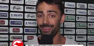 """VIDEO. Le prime parole in maglio Costa di Paolo Mancasola: """"Promozione unica cosa che conta"""""""