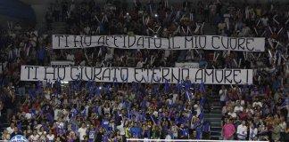 striscione dei tifosi dell'Orlandina