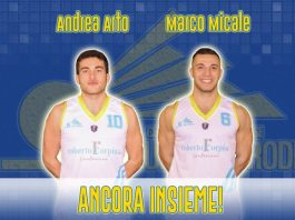 Andrea Arto e Marco Micale della Cestistica Torrenovese