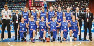 Italbasket donne 2017