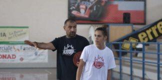 Martina Lombardo con coach Massimo Romano ad Orvieto