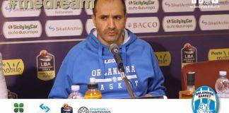 Gennaro Di Carlo in conferenza stampa