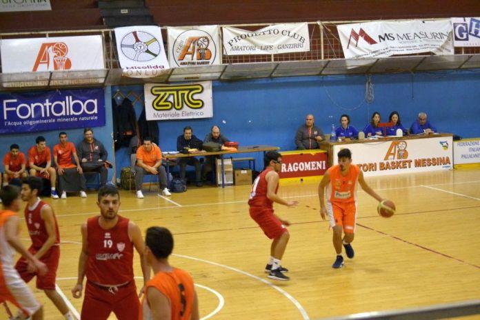 Mondello (Amatori Basket Messina) in azione