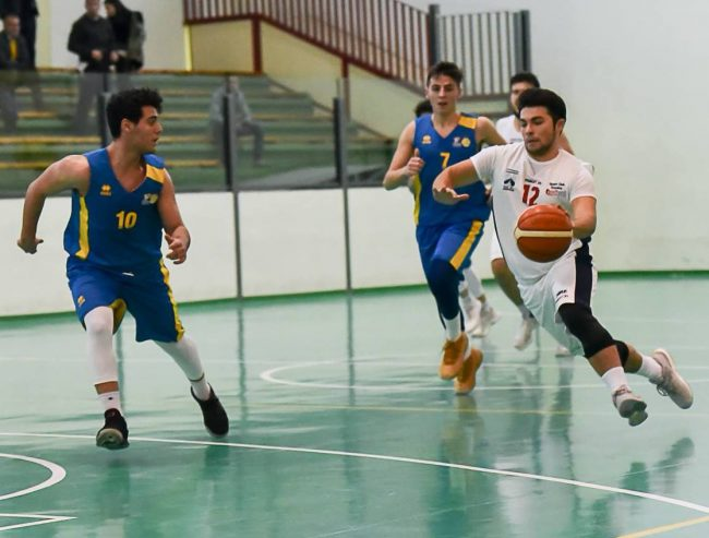 Gravina - Giarre (ph. Fb Basket Giarre)