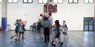 Salto a due Rainbow vs Cus Messina