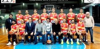 Basket School Messina foto squadra
